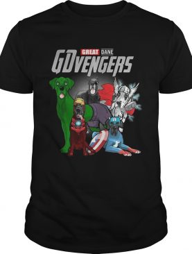 Marvel Avengers Endgame Great Dane GDvengers tshirt