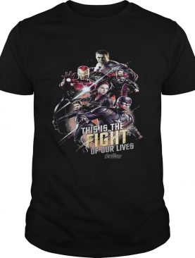 Marvel Avengers Super Hero this is the fight of our lives tshirt