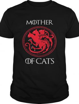 Mother of cats Game Of Thrones tshirt