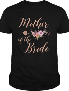 Mother of the Bride T-Shirt – Wedding Party Shirt TShirt