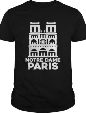 Notre Dame Paris Church France Pray For Paris tshirt