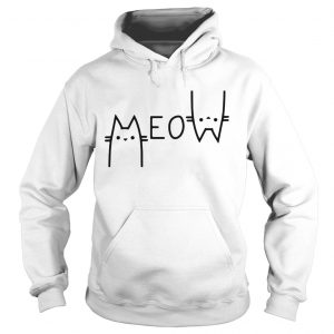 Official Cats meow Hoodie shirt