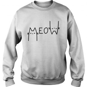 Official Cats meow Sweat shirt