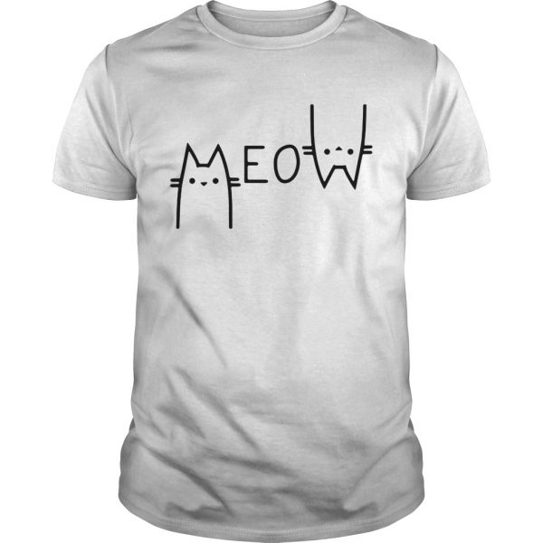 Official Cats meow Unisex shirt