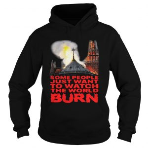 Some People Just Want To Watch The World Burn Hoodie Shirt