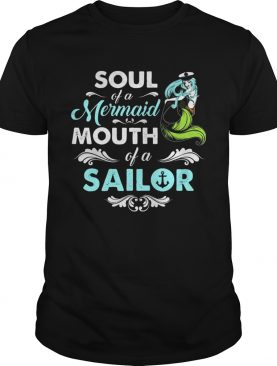 Soul Of Mermaid Mouth Of A Sailor Hippie Tshirt