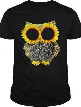 Sunflower owl tshirt
