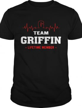 Team Griffin lifetime member tshirt