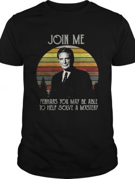 Unsolved Mysteries join me perhaps you may be able to help solve a mystery retro tshirt