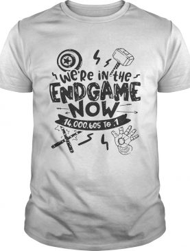 We're in the Endgame now tshirt