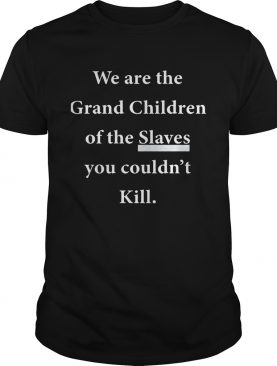 We Are The Grandchildren Of The Slaves You Couldn't Kill TShirt