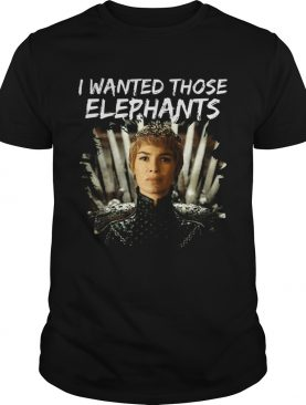 Where are My Elephants Funny Cersei Got tshirt