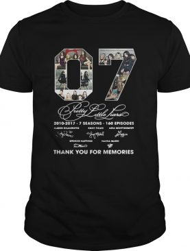 07 Pretty Little Liars thank you for memories tshirt