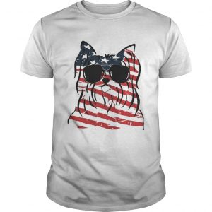4th Of July Yorkshire Terrier American Flag Unisex Shirt