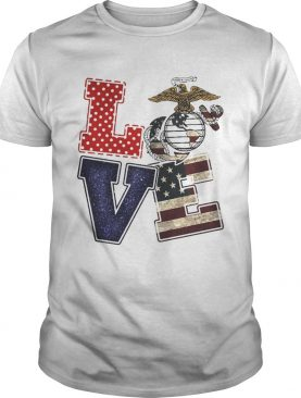 American Eagle Love Freedom tshirt