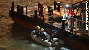 At least 7 dead, 19 missing after sightseeing boat sinks on Danube River in Hungary
