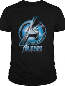 Avengers autism my superpower tshirt