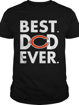 Best Dad Ever Chicago Bears Father's Day TShirt