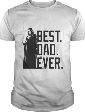 Best Dad Ever Star Wars TShirt