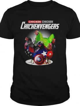 Chicken Marvel Avengers Chickenvengers tshirt