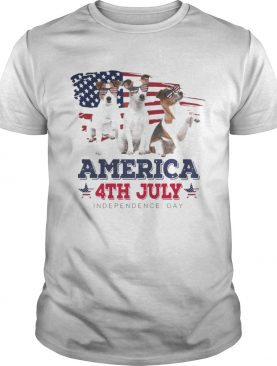 Cool Parson Russell America 4th July Independence Day Tshirt