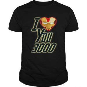 Dad and Daughter Iron Man I Love You 3000 three thousand Unisex shirt