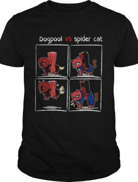 Dogpool and Spider Cat Deadpool and Spiderman tshirt