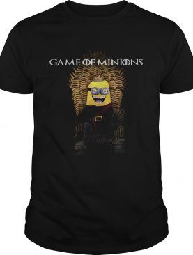 Game of Minions Iron throne tshirt