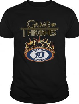 Game of Thrones Detroit Tigers mashup tshirt