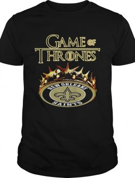 Game of Thrones New Orleans Saints mashup tshirt