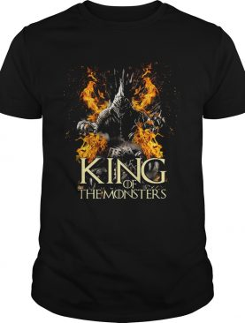 Godzilla King of the monster Game of Thrones tshirt