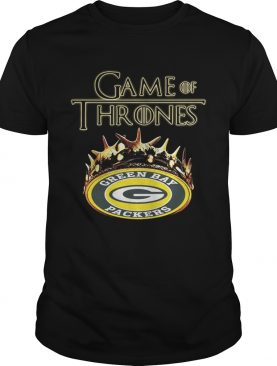 Green Bay Packers Game Of Thrones Crown tshirt
