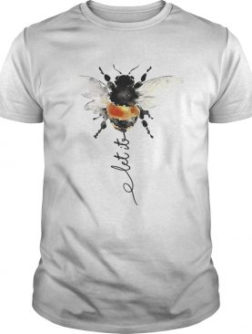 Hippie Bee Let It Be tshirt