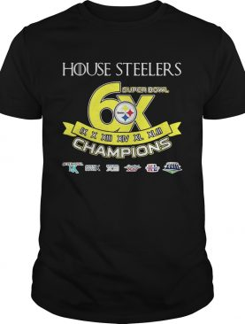 House Steelers Super Bowl Champions Steelers Pittsburgh Game Of Thrones – Tshirt
