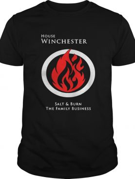 House winchester salt and burn the family business tshirt