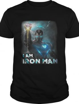 I am Iron Man Endgame Avengers tshirt