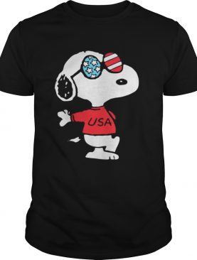 Independence Day 4th Of July Usa Snoopy TShirt