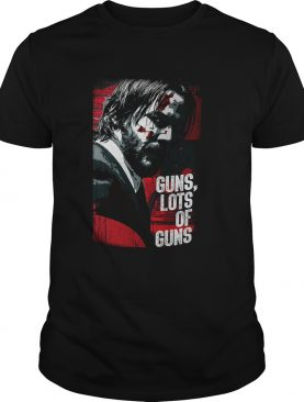 John Wick guns lots of guns tshirt