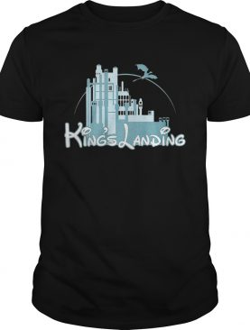 King's Landing Game of Thrones and Disney tshirt