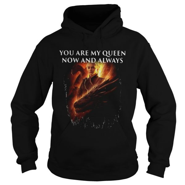 Mother of dragon you are my queen now and always Hoodie shirt