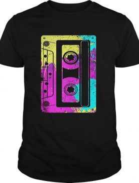 Nice Vintage Retro Music Cassette Tapes Mixtape 80s and 90s tshirt