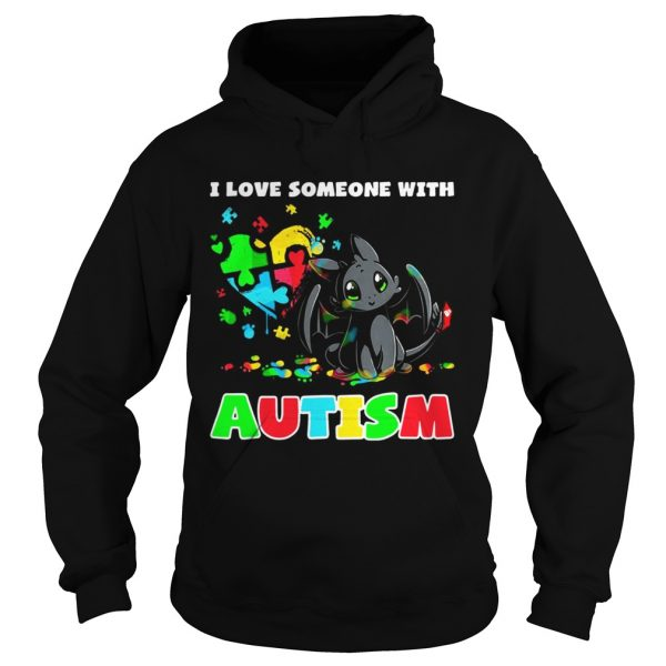 Night Fury I love someone with Autism Hoodie shirt