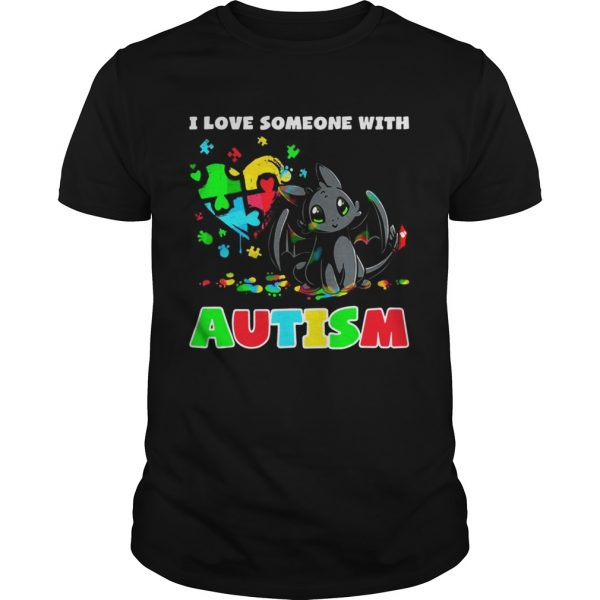 Night Fury I love someone with Autism Unisex shirt