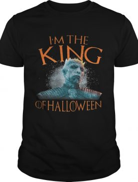 Night King I'm the King of Halloween White Walkers Game of Thrones tshirt