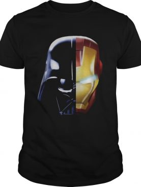 Star Wars Darth Vader Iron Man and Daft Punk tshirt