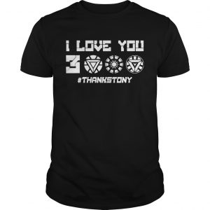 ThanksTony I Love You 3000 Unisex T-shirt