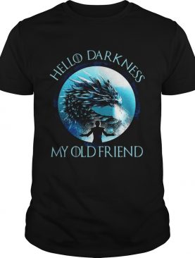 The Night King hello darkness my old friend tshirt