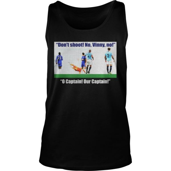 Vincent Kompany don't shoot no vinny Tank Top shirt
