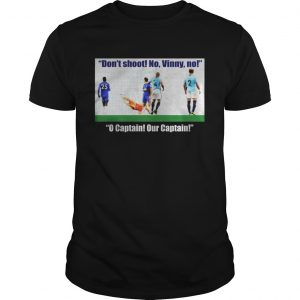 Vincent Kompany don't shoot no vinny Unisex shirt