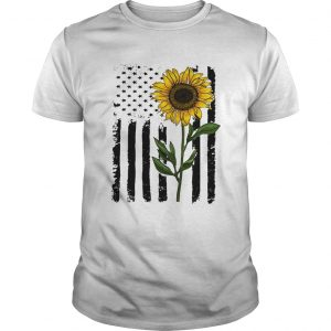 America flag sunflower Independence day 4th of July Unisex shirt
